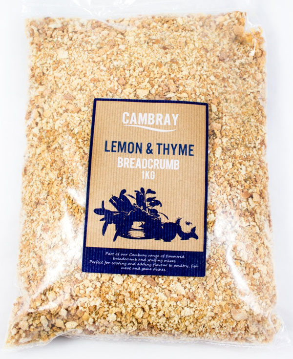 NB06 – Cambray Lemon and Thyme Flavoured Breadcrumb 4x1kg