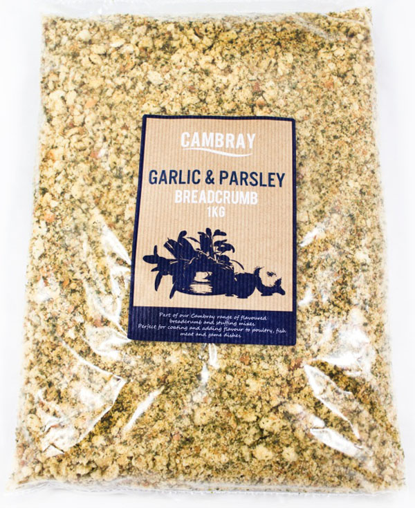 NB07 - Cambray Garlic and Parsley Flavoured Breadcrumb 4x1kg