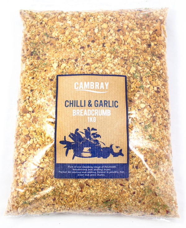 NB08 - Cambray Chilli and Garlic Flavoured Breadcrumb 4x1kg