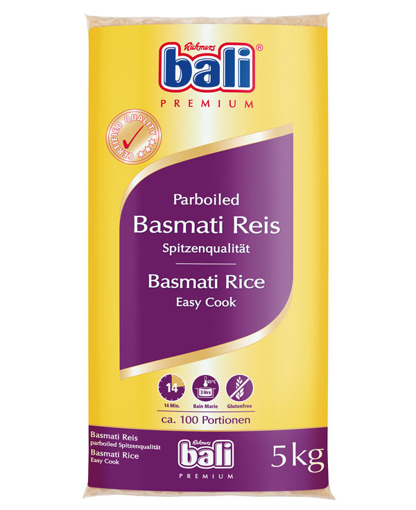 RB06 - Bali Basmati Easy Cook Rice 1x5kg
