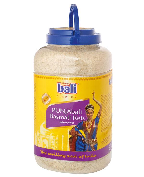 RB07 - Bali Punjabali Basmati Premium Rice 3x5kg