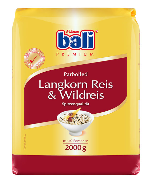 RB15 - Bali Long Grain and Wild Rice 5x2kg