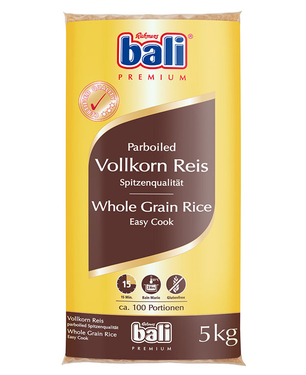 RB17 - Bali Whole Grain Easy Cook Rice 1x5kg