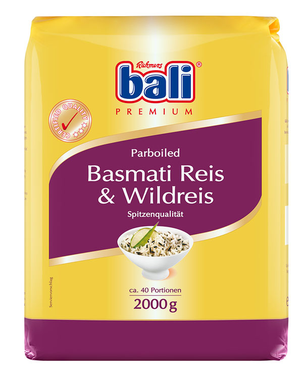 RB18 - Bali Basmati and Wild Rice 5x2kg